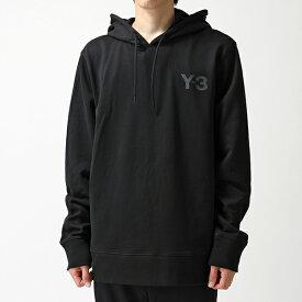 Y-3 ワイスリー adidas アディダス YOHJI YAMAMOTO FJ0419 M LOGO HOODY スウェット トレーナー プルオーバー パーカー BLACK メンズ