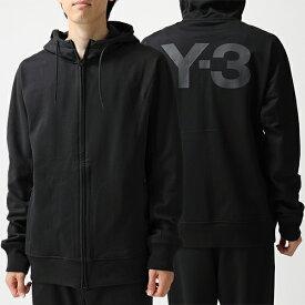 Y-3 ワイスリー adidas アディダス YOHJI YAMAMOTO FJ0344 U CL ZIP HOODIE スウェット ジップアップ パーカー BLACK メンズ