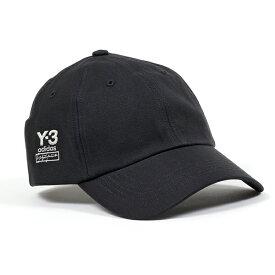 Y-3 ワイスリー adidas アディダス YOHJI YAMAMOTO FH9269 DAD CAP ベースボールキャップ 帽子 ロゴ刺繍 BLACK メンズ