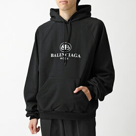 BALENCIAGA バレンシアガ 571194 TFV75 1000 オーバーサイズ プルオーバー パーカー トレーナー 1000/BLACK メンズ