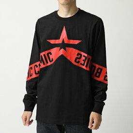 DIESEL ディーゼル 00SY8B 0PATI T-JUST-LS-STAR クルーネック 長袖Tシャツ ロンT ロング カットソー 900 メンズ