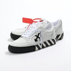 OFF-WHITE オフホワイト VIRGIL ABLOH OMIA085F19D68001 0110 LOW VULCANIZED レザー ローカット スニーカー 靴 メンズ