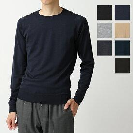 JOHN SMEDLEY ジョンスメドレー SICILY シチリア ITALIAN FIT メリノウール クルーネック ニット セーター カラー7色 メンズ
