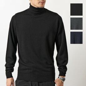 JOHN SMEDLEY ジョンスメドレー CONNEL コネル STANDARD FIT メリノウール タートルネック ニット セーター カラー3色 メンズ