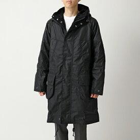Barbour × Engineered Garments バブアー エンジニアドガーメンツ コラボ MWX1592 Highland Wax フーテッドコート ワックス ジャケット NY92 メンズ