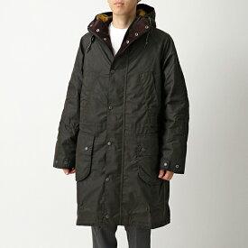 Barbour × Engineered Garments バブアー エンジニアドガーメンツ コラボ MWX1592 Highland Wax フーテッドコート ワックス ジャケット OL71 メンズ