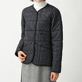 LAVENHAM ラベンハム THORNDON LADIES ソードン 中綿 キルティング ジャケット ノーカラー コート BLACK レディース
