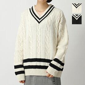 Oldderby Knitwear オールドダービーニットウェア JM1001 Vネック ニット セーター 2色