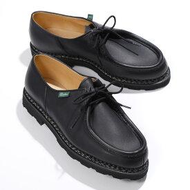 PARABOOT パラブーツ 715604 MICHAEL/MARCHEII ミカエル チロリアン シューズ オイルドレザー NOIRE-LIS NOIR 靴 メンズ【2021ss】