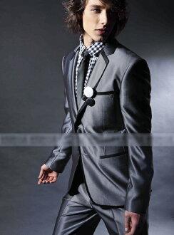 H1219GR, tuxedo, sales, 4-piece set, wedding ceremony, wedding, wedding, party, concert, Conference, formal, dark grey, wedding reception, party, purchase,