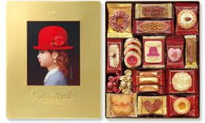 赤い帽子 ゴールド【バレンタインデー/お菓子/内祝/お返し/出産内祝い/結婚内祝い/快気祝い/香典返し/法要法事】