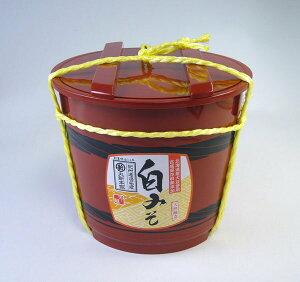 長生きみそ汁に 白みそ 2kg 樽 国産原料使用 ☆おすすめ☆上品なやさしい味 【丸新本家・湯浅醤油】