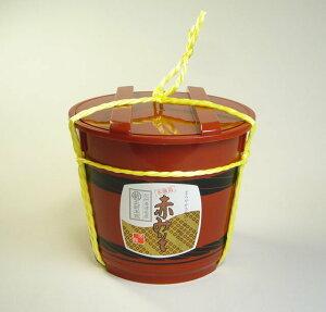 長生きみそ汁に 赤みそ 2kg 樽 国産原料使用 長期熟成 麦入り【丸新本家・湯浅醤油】