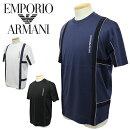 【2021年春夏国内正規】エンポリオアルマーニ【EMPORIOARMANI】クルーネックTシャツ半袖Tシャツ3K1TAH