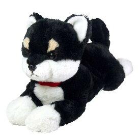 ひざわんこ 柴犬 ブラック ぬいぐるみ【いぬぬいぐるみ/イヌヌイグルミ/犬/いぬ/イヌ】