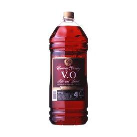 クーポン有!サントリーサントリーブランデーVO37%4000mlペットボトルブランデー国産4LSUNTORYbrandy