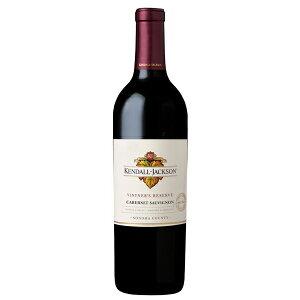【6本~送料無料】〔2018〕 ヴィントナーズ リザーヴ カベルネ ソーヴィニヨン 750ml 【ケンダル ジャクソン】 赤ワイン アメリカ カリフォルニア カリフォルニア ギフト 贈り物 お祝い お礼 お