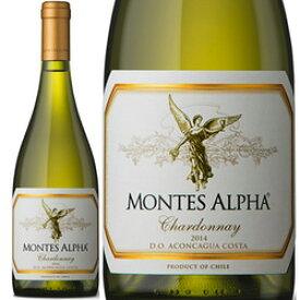 こみこみ6本で送料無料!モンテス アルファ シャルドネ 750ml 白ワイン チリ モンテス 辛口 MONTES ALPHA CHARDONNAY