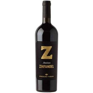 【6本~送料無料】ポッジョ・レ・ヴォルピ ジン ジンファンデル 750ml 【ポッジョ・レ・ヴォルピ】 赤ワイン イタリア プーリア ギフト 贈り物 お祝い お礼 お歳暮
