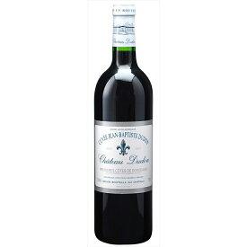 クーポン&P2倍以上!【6本~送料無料】[2003] シャトー デュドン キュヴェ ジャン バティスト デュドン 750ml 【シャトー デュドン】 赤ワイン フランス ボルドー フルボディ Chateau Dudon Cuvee Jean Baptiste Dudon