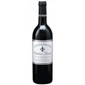 クーポン&P2倍以上!【6本~送料無料】[2004] シャトー デュドン キュヴェ ジャン バティスト デュドン 750ml 【シャトー デュドン】 赤ワイン フランス ボルドー フルボディ Chateau Dudon Cuvee Jean Baptiste Dudon