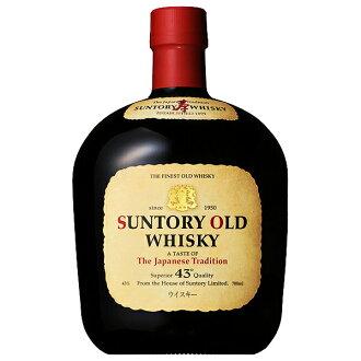 日本三得利三得利老威士忌43%700ml威士忌国产suntoryOLD升屋酒店