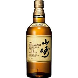 サントリー 山崎 12年 43% 700ml日本 サントリー 山崎蒸留所 ウイスキー シングルモルト 国産 やまざき SUNTORY YAMAZAKI 12years