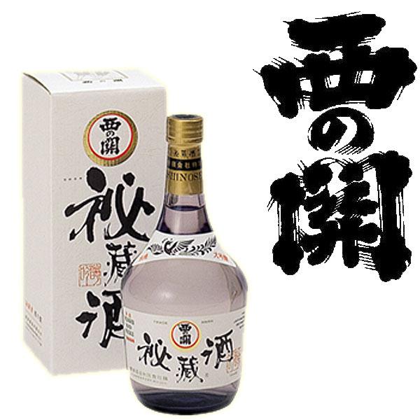 大分県 萱島酒造西の関 大吟醸 秘蔵酒 720ml日本酒 清酒 大分 Nishinoseki 枡屋酒店