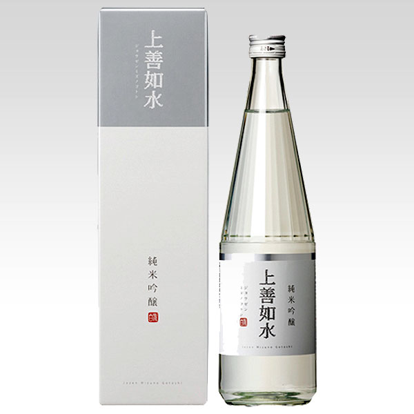 日本白瀧酒造上善如水(じょうぜんみずのごとし)純米吟醸720ml日本酒清酒新潟県