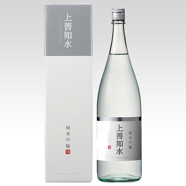 日本白瀧酒造上善如水(じょうぜんみずのごとし)純米吟醸1800ml日本酒清酒新潟県