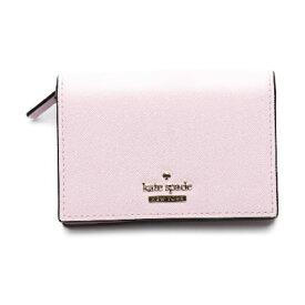 【新品】 コインケース付 名刺入れ コンパクト ケイトスペード ピンク カードケース Kate Spade 【SS】