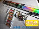 PROXエギンガープレミアムエアーK80Mエギロッド/リール/エギングPEライン/エギ6個セット