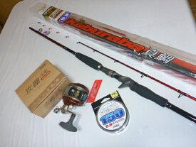 PROX カブラバ真鯛190MLロッド/攻棚浅瀬左ハンドルリール/PE-XX 0.8号ラインセット