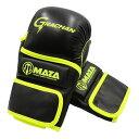 MAZA[マザ] GRACHANチャレンジ 公式 MMA パウンドグローブ(黒/イエロー) / 総合格闘技 ボクシング キックボク…
