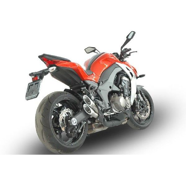 【バイク マフラー】QDエキゾースト パワーガン スリップオン システムZ1000 2014-