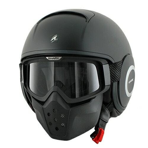 【SHARK】バイク ヘルメット DRAKドラク ブラック マット(ツヤ消し)