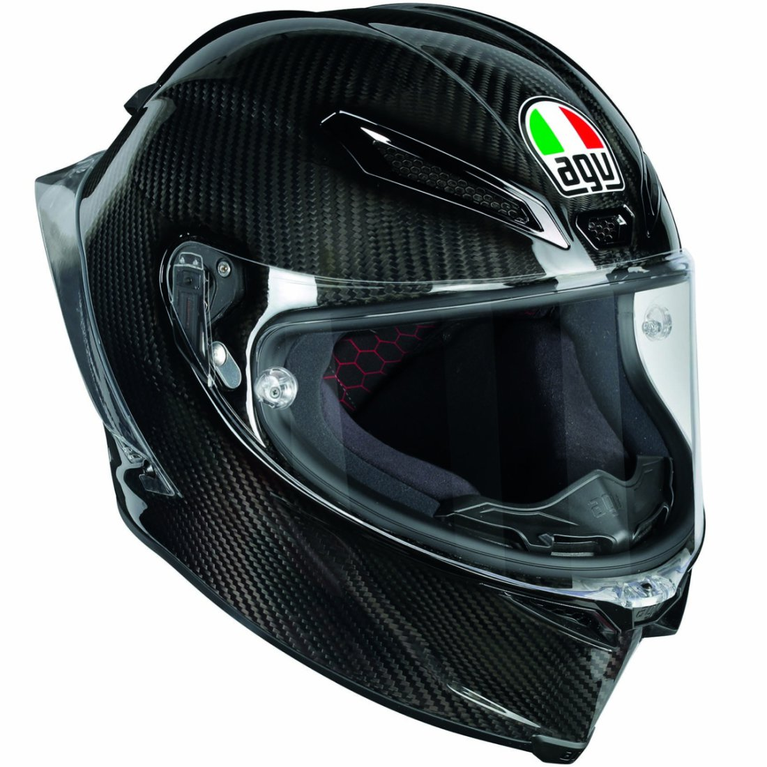 AGV バイク フルフェイス ヘルメット ピスタGP−R ソリッド・カーボン
