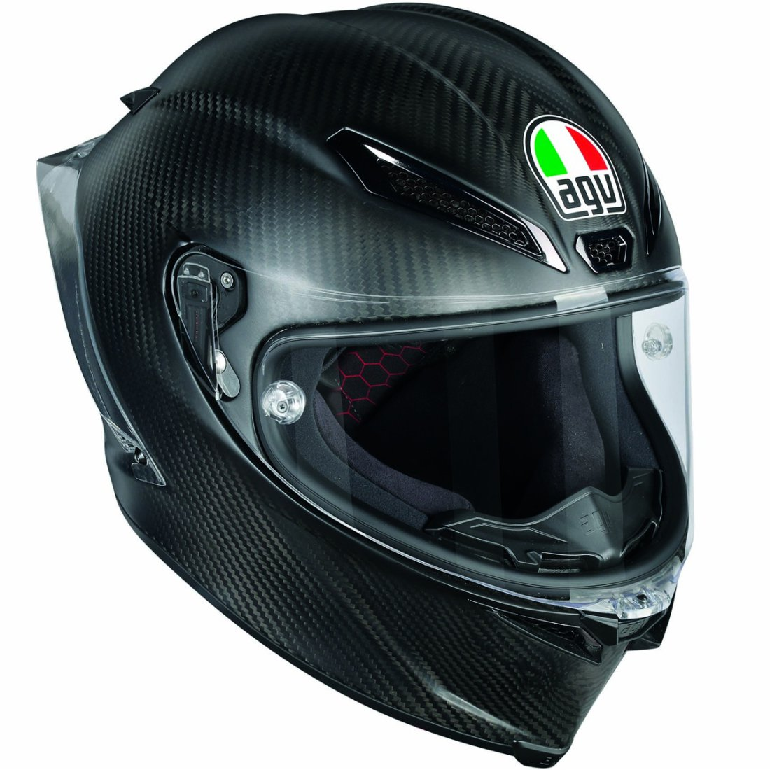 AGV バイク フルフェイス ヘルメット ピスタGP−R ソリッド・カーボン 艶消し