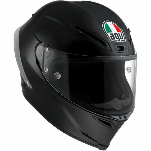 AGV バイク フルフェイス ヘルメット コルサR ソリッド・ブラック 艶消し