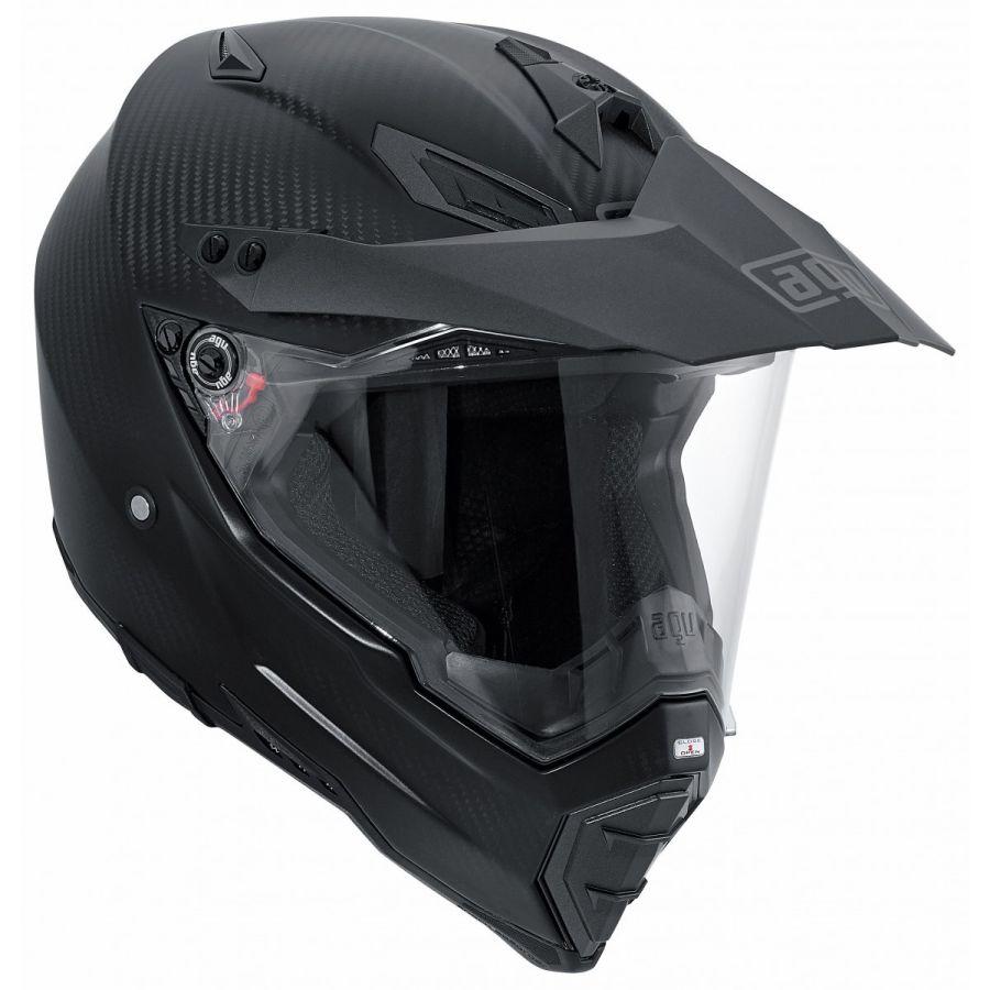 AGV バイク フルフェイス ヘルメット AX-8 Dual EVO デュアルEVO マットカーボン