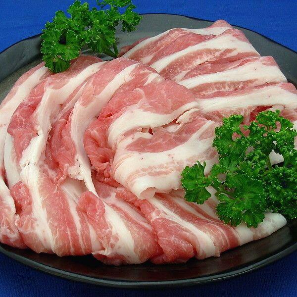 国産豚肉 カタ・バラスライス500g 鍋物 お好み焼きなどに☆おいしい香川県産の豚肉 「讃玄豚」