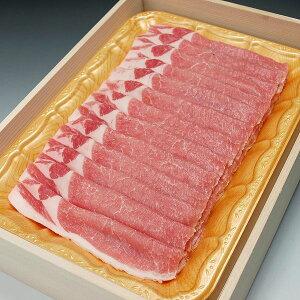 国産豚肉 ローススライス しゃぶしゃぶ 鍋物用などに800g 木箱入り☆お祝い ギフト 贈り物においしい香川県産の豚肉 「讃玄豚」