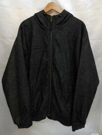 Columbia コロンビア 裏地フリースフード付きジャケット SizeXL インディゴ メンズ コロンビアスポーツウェアジャパン PM5147 【中古】