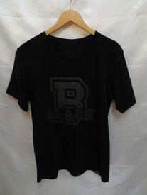 the POOL aoyama×White Mountaineering BLACK S/S Tシャツ サイズ2(M相当) 黒 tee メンズ 日本製 プールアオヤマ 藤原ヒロシ【中古】