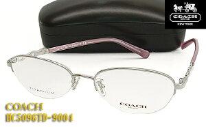 【COACH】コーチ 眼鏡 メガネ フレーム HC5096TD-9004 伊達眼鏡対応(度入り対応/フィット調整対応/送料無料!【smtb-KD】