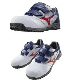 軽量!!安全靴 ミズノ プロテクティブスニーカー オールマイティLS マジックベルトタイプ CIGA1701