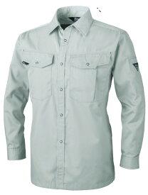 XEBEC1493 ジーベック ワークウェア 定番服 長袖シャツ SS〜5L