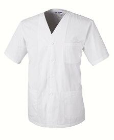 XEBEC25101 ジーベック フード 半袖上衣(衿ナシ) M〜5L