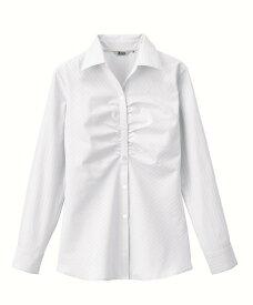 XEBEC40082 ジーベック スーツ オープンブラウス 5〜19号