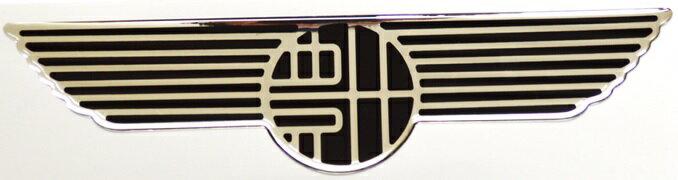 【豊田エンブレムシール大】昔懐かしトヨタエンブレムをポッティング加工のシールにしました!